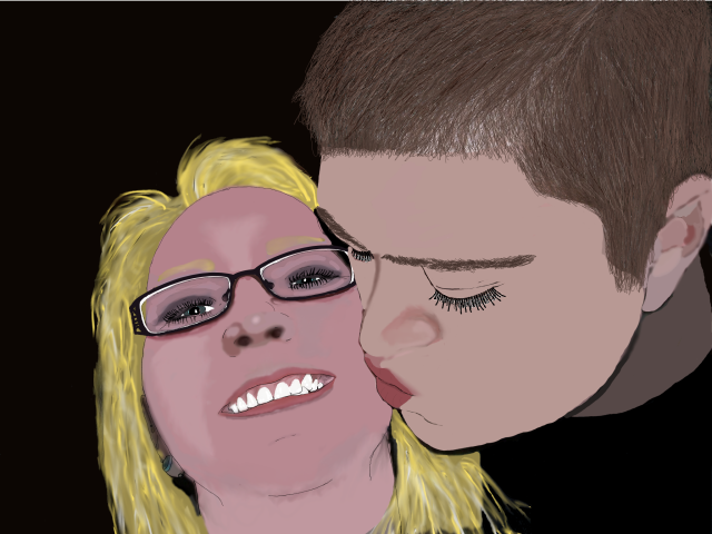 Fiance` and I (Portrait)